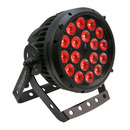 Litecraft OutLED AT10, IP65, RGBA, 18x10W, 25�, Alu schwarz, 4in1 LED