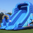 Children's Bouncy Castle & Slide Combo Hire - Sheffield