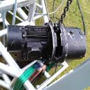 Chain hoist Rental of Verlinde 1 ton 3 phase electric chain hoist winch for lifting truss and line array towers for hire on Live events at London Conference Hotels, Fashion shows, Exhibition stands, School, Wedding, Awards shows in Surrey, Hant