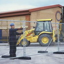 Metal Site Security Fence Hire | easy assembly