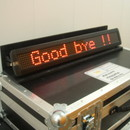video rental of Scrolling LED Text Message Display Hire - from East London AV hire company Turnaround360
