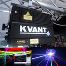 Laser Lasershow Laserverleih KVANT Spektrum 1,6 Watt LM RGB Full Color HIGH END Laserprojektor