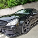 Mercedes Benz SL 55  AMG CLP 650PS Black Series