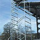Alloy Scaffold Tower - up to 16.7m