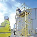 Grp Scaffold Tower Fibreglass - 6.8-7.7m