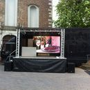 Showtruck - mobile B�hne - B�hnentruck - LED-Wall - Videowand - Public Viewing