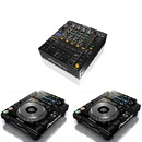 Pioneer DJM 850 K CDJ 2000 NXS Nexus DJ Set Mischpult Mixer CD Player Controler